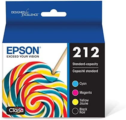 Epson T212 Claria Standard Capacity Cartridge Ink Black and color Combo Pack product image
