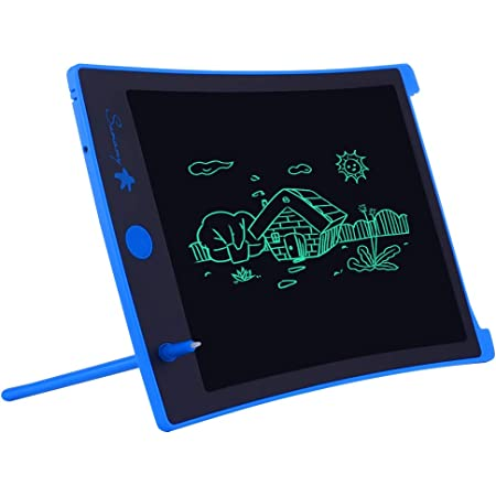 PIWHUX LCD Writing Tablet Educational Learning Gifts for Boys and Girls 8.5 Inch Kids Doodle Board Drawing Tablet Toys for 2 3 4 5 6 Years Old Girls Boys Pink