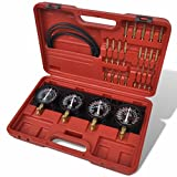 binzhoueushopping Juego para la Sincronización,Hand Tools, de Carburadores con...