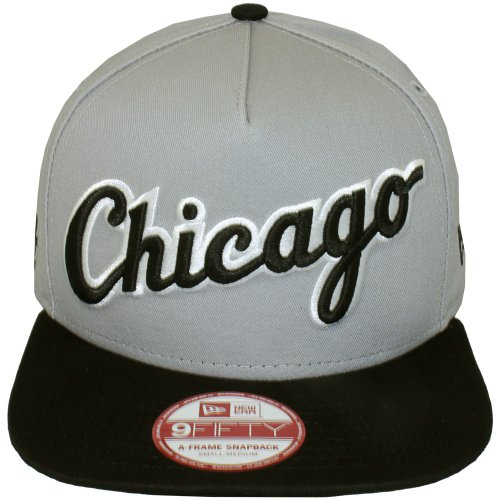 New Era - Casquette Snapback Homme 9Fifty MLB Turnover 2 - Chicago White Sox - Taille S/M
