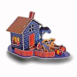 3D Puzzle House Kits for Halloween Decorations