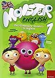 Monster english. Per diventare «mostri» in inglese. Con adesivi: 1