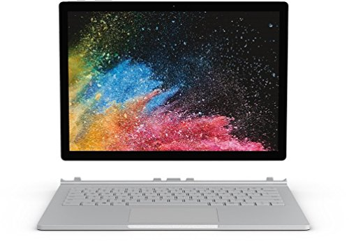 Microsoft Surface Book 2 34,29 cm (13,5 Zoll) Laptop (Intel Core i7 der 8. Generation, 16GB RAM, 512GB SSD, Intel HD Graphics 620, Win 10) silber