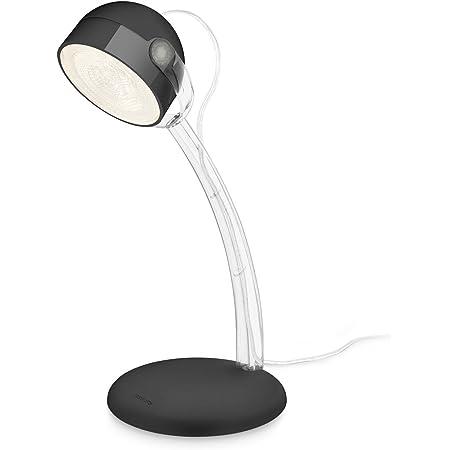 Philips Geometry Lampada Da Tavolo Portatile Led Integrata Rosso Amazon It Illuminazione