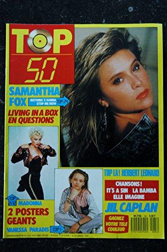 TOP 50 084 N° 84 SAMANTHA FOX MADONNA VANESSA PARADIS HERBERT LEONARD JIL CAPLAN