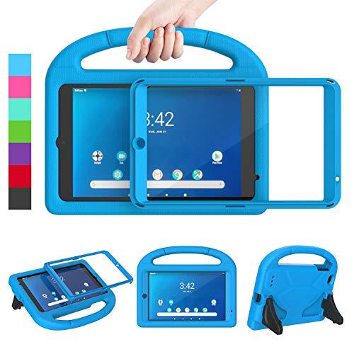 "LEDNICEKER Kids Case for Walmart Onn 8"" 2019 - Built-in Screen Protector Lightweight Handle Friendly Kick Stand Kids Case for Walmart Onn 8 Tablet Model ONA19TB002 (2019 Release Not for 2020 ), Blue"