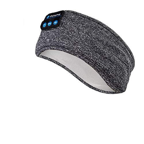 Schlaf Kopfhörer Ohrstöpsel - Navly Kabellos V5.0 Sport Stirnband Kopfhörer mit Ultradünnen HD Stereo Lautsprecher,Perfekt für Sport, Seitenschläfer, Flugreisen, Meditation und Entspannung