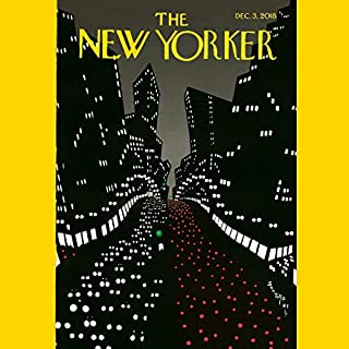 The New Yorker, December 3rd 2018 (Nora Ephron, Hilton Als, Dawn Powell) cover art