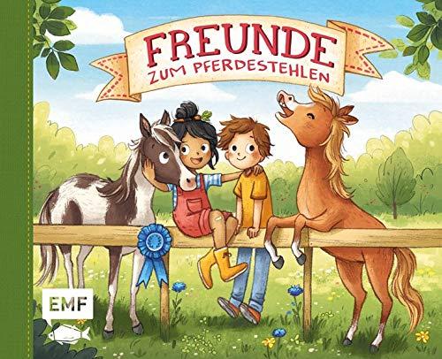 Freunde zum Pferdestehlen – Mein Freundebuch: Mit Geburtstagskalender und Seiten zum Malen sowie für lustige Sprüche und Fotos