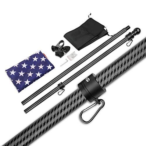 Best tangle free flag poles