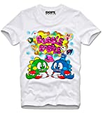 DOPEHOUSE T Shirt Camiseta Bubble Bobble Commodore Amiga C64 Gaming Gamer Retro Vintage M