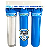 Pelican Water EZ-Connect Compact Water Filter/Softener Combo - Blue