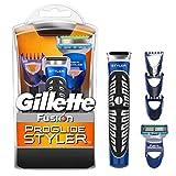 Gillette Fusion ProGlide 3en 1Styler, recortadora y afeitadora
