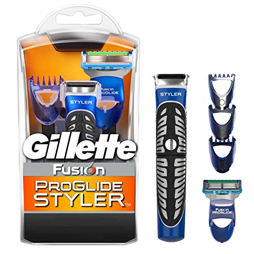 Gillette Fusion ProGlide 3-in-1 Styler Trimmer, Rasierer und Definierer