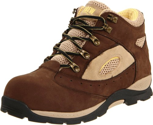 Drew Shoe Women's Rochelle Hiking Boot,Dark Brown/Yellow,7.5 M US