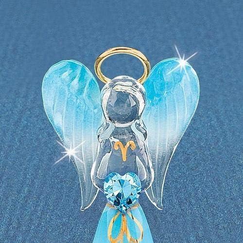 Clear glass angel figurines _image4