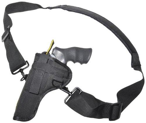 Crossfire Elite Alaskan Frame Hip/Belt Holster 2' Medium, Ambidextrous, Black (CRF-AVH2MF)