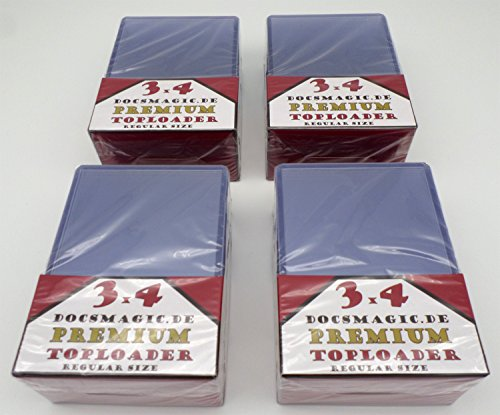 docsmagic.de 4 x 25 Premium Toploader - 3