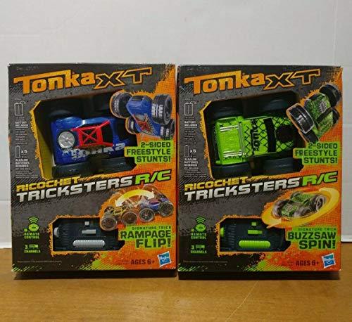 Tonka XT Ricochet Tricksters R/C [Rampage Flip]