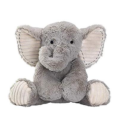 Lambs & Ivy Jungle Safari Gray Plush Elephant Stuffed Animal Toy - Jett by Lambs & Ivy