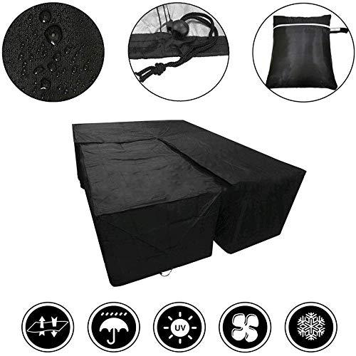 Al Aire Libre Cubierta De Muebles De Patio Li Hung-Suite En El Jardín De Comedor Cubierta Impermeable, con UV Estabilizado con Cubierta De Protección contra El Polvo