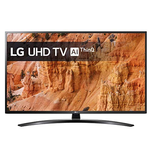 LG TV LED 4K AI Ultra HD,49UM7400PLB, Smart TV 49'/125 cm, 4K Active HDR