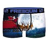 FREEGUN Christmas para Hombre, Multicolor, Boxer unitario T630-1, XL