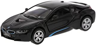 KiNSMART New 1:36 Display - Black Color BMW I8 Diecast Model Car