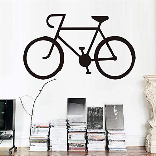 Pegatinas De Pared Etiqueta Engomada De La Bicicleta Sala De Estar De La Bicicleta Silueta De Los Niños Decoración Del Hogar