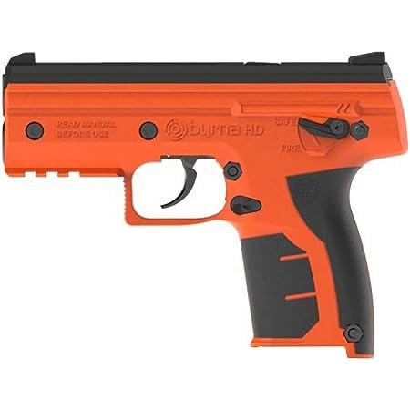 Amazon.com: Byrna HD Launcher Kit, lanzador de pimienta, arma de defensa propia, pistola de pimienta, dispositivo de defensa táctica alternativa no letal de fuego de aire: Sports & Outdoors