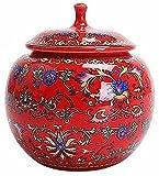 WWZZ Urna para Cenizas de cerámica Hecha a Mano de la cerámica del Gato de Yonmono del Gato Adecuado de la Ceniza de Hueso
