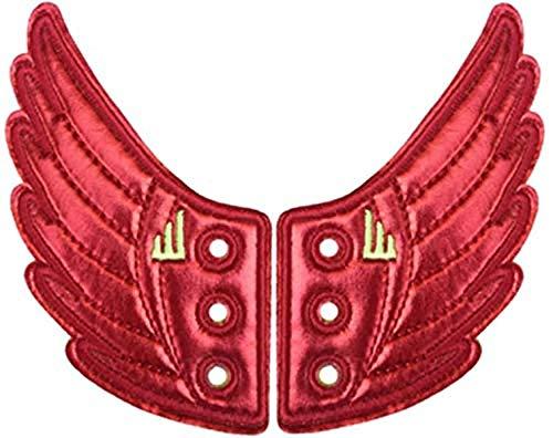 Flügeln Moreno Folie Spitze in Flügel für Schuhe (rot)