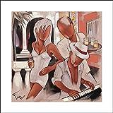 Huge 46x46 Farel, Pierre Art Print by Museum Prints Titled Havana Piano