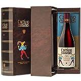 CAMINO DE CABRAS Estuche de vino - Mencía - vino tinto Crianza – D.O. Valdeorras – Producto Gourmet - Vino bueno para regalar - Vino Premium - 1 botella x 75cl