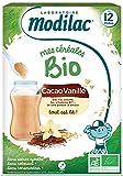 Modilac Mes Céréales Bio - Cacao y vainilla (250 g)