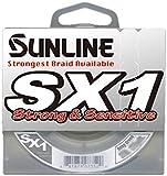 Sunline SX1 Braided Fishing Line (Dark Green, 12-Pound Test/125-Yard)