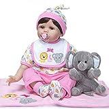 Mini 11'Negro Realista Reborn Baby Dolls Kits Silicona Cuerpo Completo Nativo Americano Indian Boy