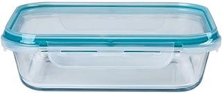 Pote de Vidro Retangular Cloc Glass 640ml - Neoflam