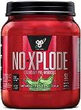 BSN Nutrition N.O.-Xplode, Suplementos Deportivos Pre Workout en Polvo con Creatina Monohidrato, Cafeina, Beta Alanina, Vitamina D y Vitamina B Complex, Menzana Verde, 50 Porciones, 1 kg