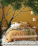 Koton Shama 600 - Alfombra de salón Shaggy (120 x 160 cm), color crema