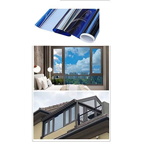 FYZS Unidireccional de privacidad lámina for ventanas, la ventana de cristal de la película, la película solar, reflexiva película de la ventana, ventana de seguridad de la película, UV lámina for ven
