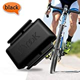 Elook Cycling Speed & Cadence Sensor 2 in 1 Cadence Monitor with Waterproof,Easy to Install, Compatible for iPhone Android Bike Computer SmartWatch