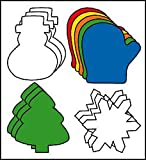 """3"""" Winter Creative Cut-Outs Grab Bag with..."""