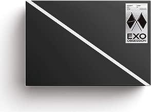 エクソ - OBSESSION [EXO ver.] (Vol.6) CD+フォトブック+Folded Poster [KPOP MARKET特典: 追加特典両面フォトカードセット] [韓国盤]