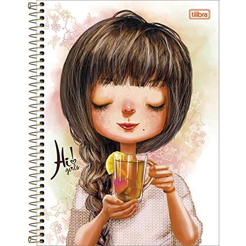 Caderno Hi Girls Com 96 Folhas 118524 Tilibra