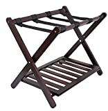 BirdRock Home Luggage Rack Stand with Shoe Shelf - Compact...