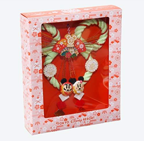 だるまミッキーしめ飾り2020年ニューイヤーグッズお正月子年鼠ディズニーグッズお土産【東京ディズニーリゾート限定】