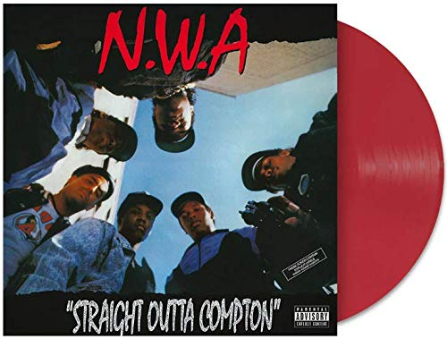 Straight Outta Compton - Exclusive Limited Edition Red Colored Vinyl LP