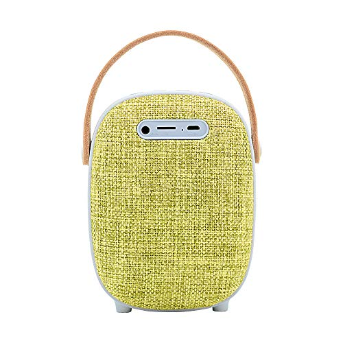 LEICKE Bluetooth Lautsprecher DJ Roxxx | Wasserdichter tragbarer Lautsprecher | Kabellose Tragbare Musikbox | Kompatibel mit Siri und Google Assistant (Venus)