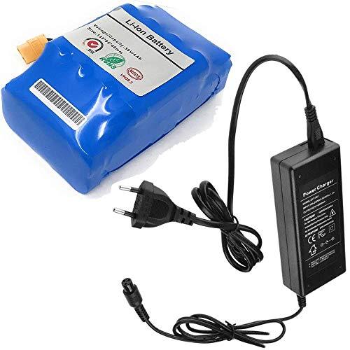 DOBO Batteria di Ricambio al Litio per Smart Balance + caricabatteria Caricatore Alimentatore per Hoverboard Overboard